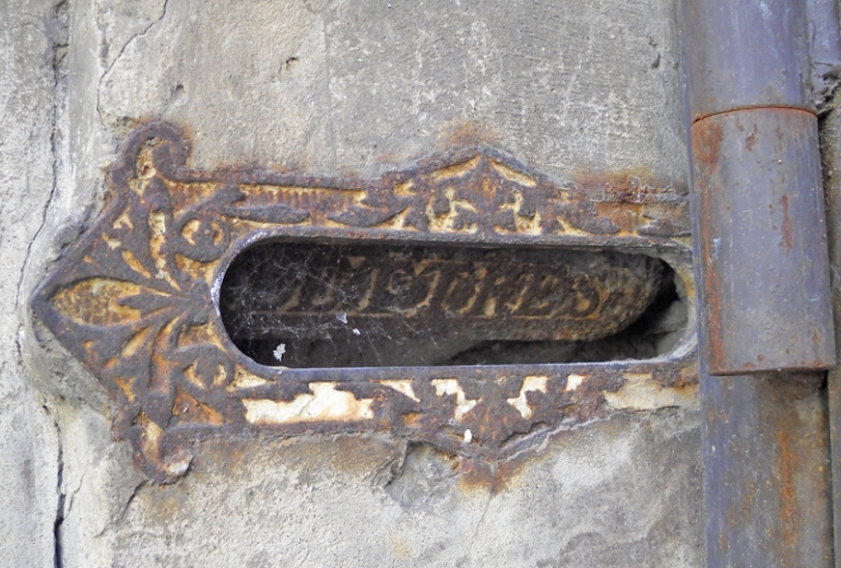 lettres patina