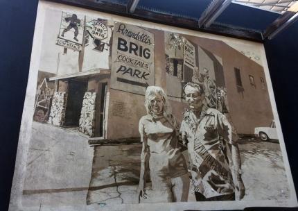 the brig mural